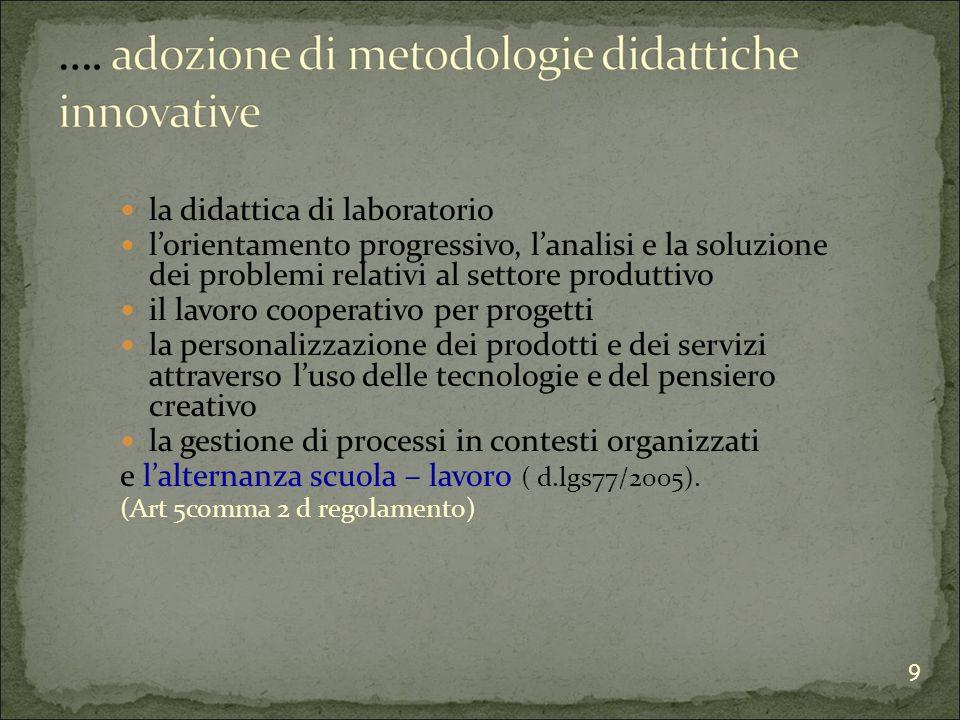 gli istituti professionali:.
