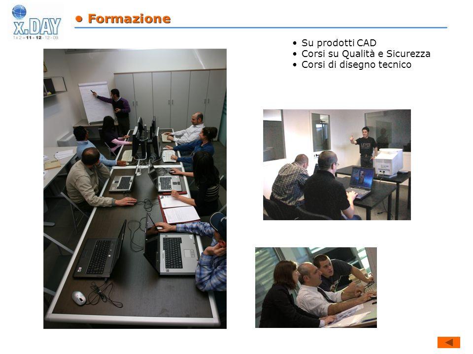 Su prodotti CAD Corsi su Qualità e Sicurezza Corsi di disegno tecnico