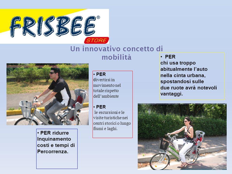 Un innovativo concetto di mobilità PER chi usa troppo abitualmente lauto nella cinta urbana, spostandosi sulle due ruote avrà notevoli vantaggi.