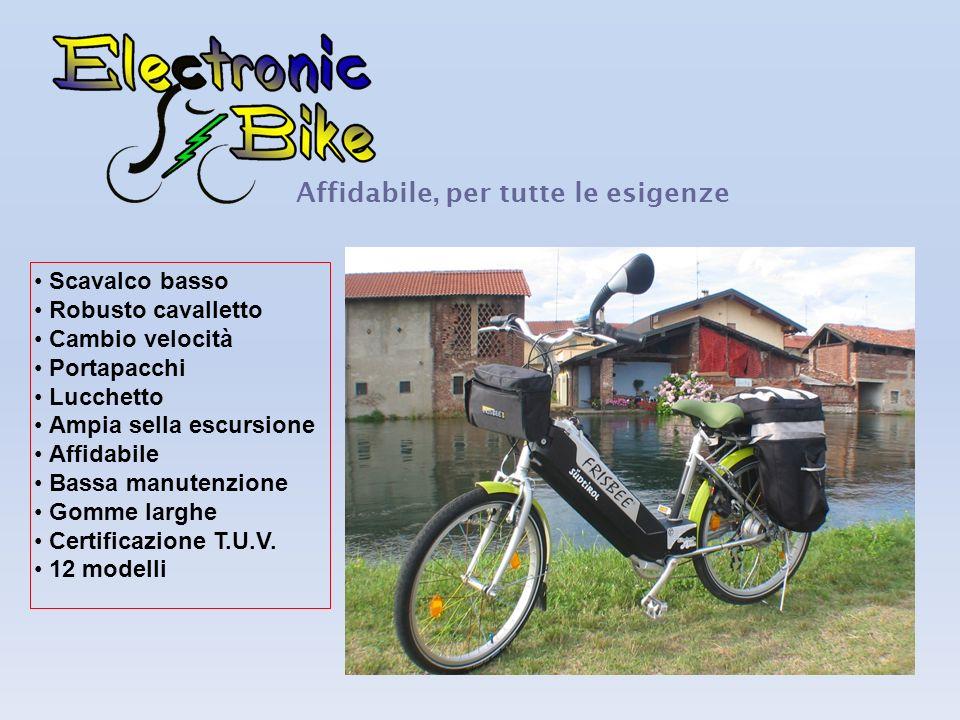 Informazioni utili Sono biciclette a pedalata assistita elettricamente da un motore di ultima generazione Brushless, sono comodamente ricaricabili tra