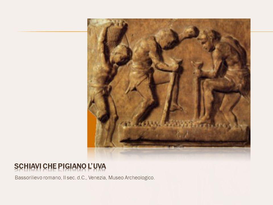 Bassorilievo romano, II sec. d.C., Venezia, Museo Archeologico.