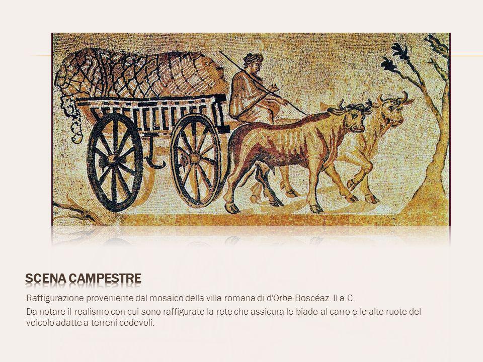 Raffigurazione proveniente dal mosaico della villa romana di d Orbe-Boscéaz.