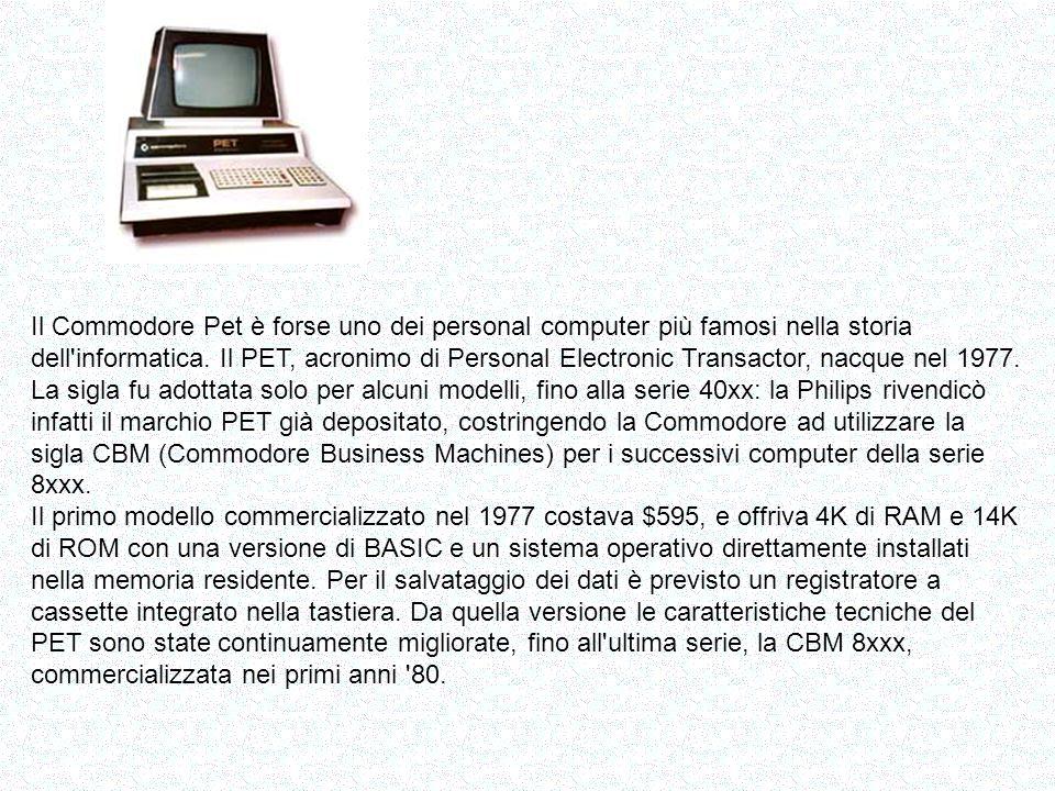 Al primo Computer Show di Atlantic City, nel 1977, Steve Jobs e Steve Wozniak presentarono il prototipo di un computer destinato al grande pubblico: l Apple II.