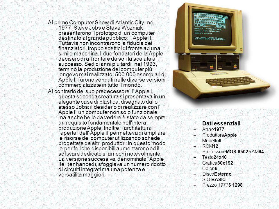 Lo ZX-80 (1980) è il primo personal computer progettato in proprio e a essere venduto con un prezzo inferiore alle 100 sterline.