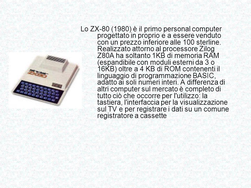 Il Vic 20 era un home computer prodotto da da Commodore a partire dal 1980 con l aspetto di una tastiera, fu soprannominato the friendly computer , il computer amico e commercializzato come computer per la famiglia, per la casa, per il gioco, ad un prezzo relativamente contenuto, meno di 300$.
