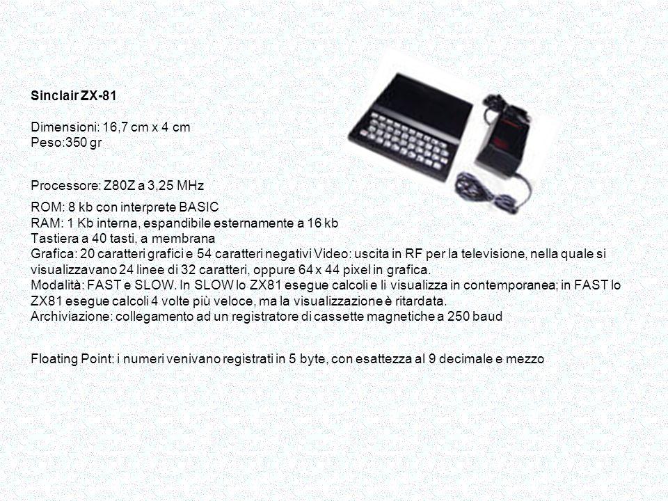 Il 12 agosto 1981 veniva presentato ufficialmente alla stampa specializzata il personal computer di IBM.