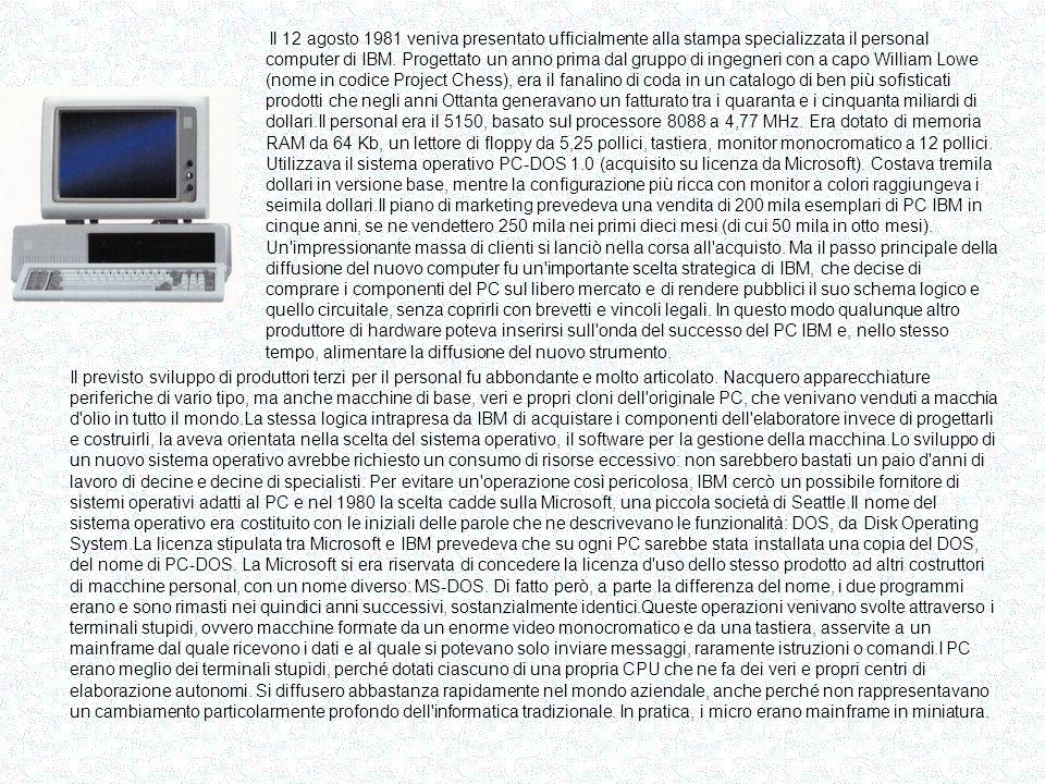 Commodore 64 Era il settembre 1982.