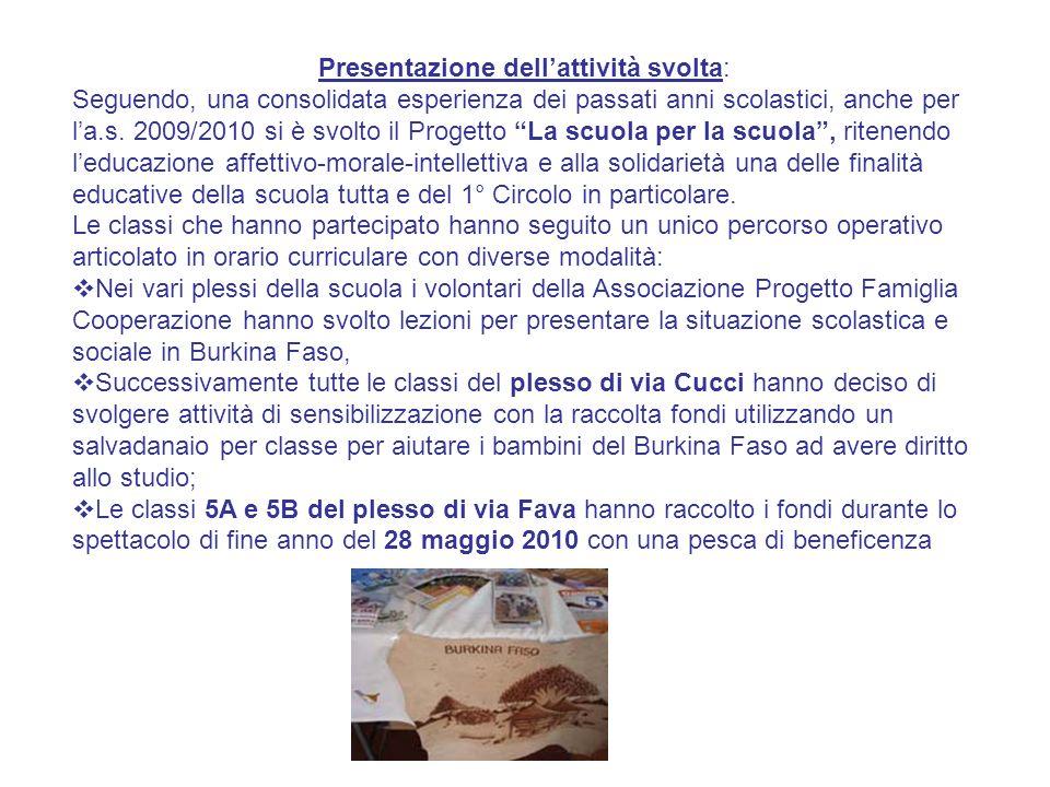 La mostra mercato del 14 maggio: Le classi 3 A e 5 A del plesso di Capocasale e le classi 3A, 3B,4A, 4B di via Fava hanno raccolto oggetti vari: