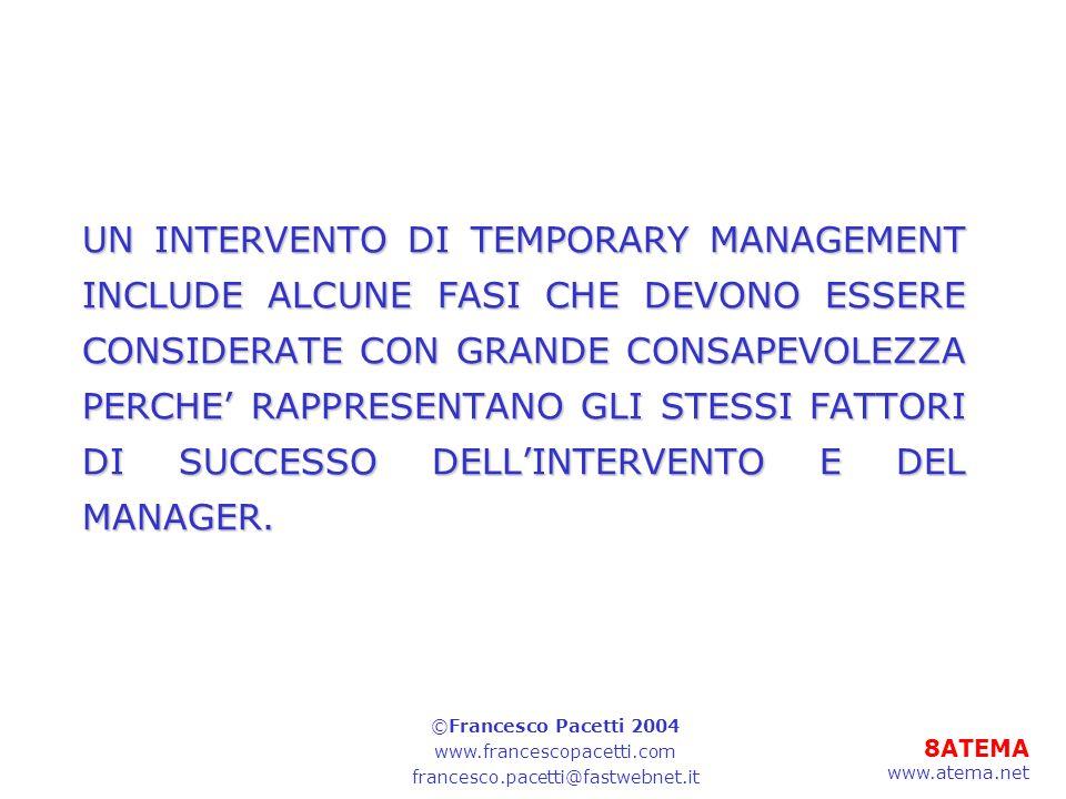 39ATEMA www.atema.net Piano di formazione 9-IL CONTO ECONOMICO 9.1Il fatturato 9.2Il valore delle vendite 9.3Il costo del venduto 9.4Il margine industriale 9.5Il margine commerciale 9.6Il margine operativo 9.7Il profitto 9.8Il profitto prima degli investimenti 9.9Il profitto prima delle tasse ©Francesco Pacetti 2004 www.francescopacetti.com francesco.pacetti@fastwebnet.it