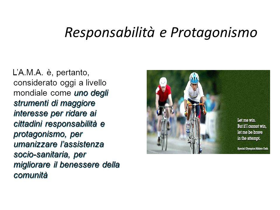 Responsabilità e Protagonismo uno degli strumenti di maggiore interesse per ridare ai cittadini responsabilità e protagonismo, per umanizzare lassiste