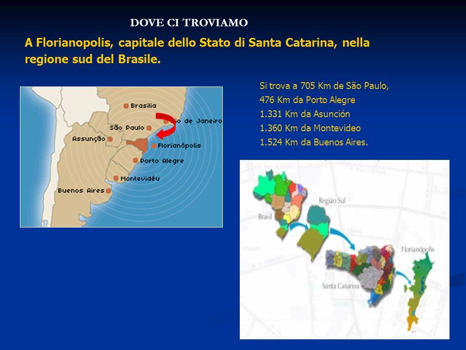 A Florianopolis, capitale dello Stato di Santa Catarina, nella regione sud del Brasile.