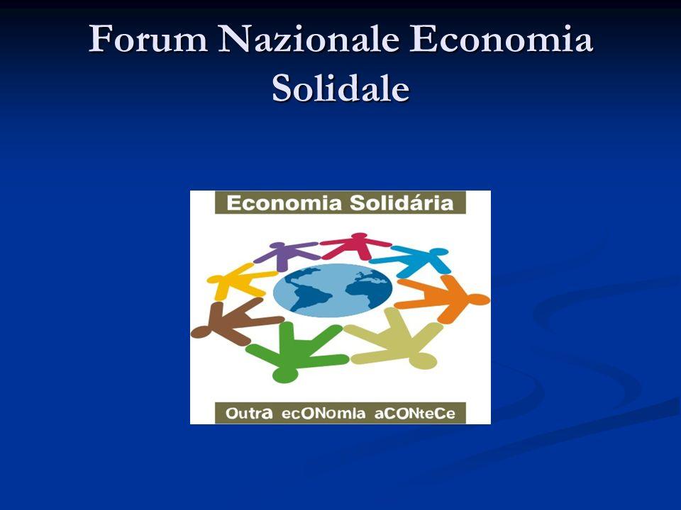 Forum Nazionale Economia Solidale