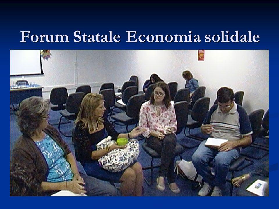 Forum Statale Economia solidale
