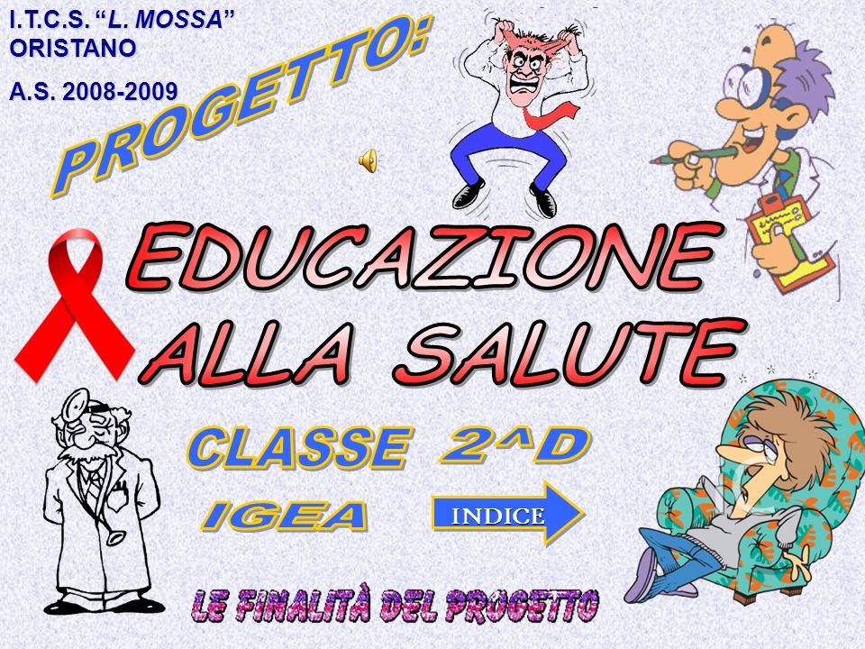 I.T.C.S. L. MOSSA ORISTANO A.S. 2008-2009 INDICE
