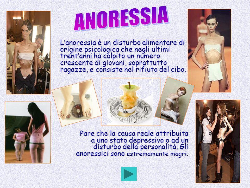 Lanoressia è un disturbo alimentare di origine psicologica che negli ultimi trentanni ha colpito un numero crescente di giovani, soprattutto ragazze,