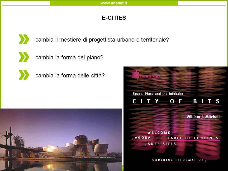 E-CITIES cambia il mestiere di progettista urbano e territoriale.