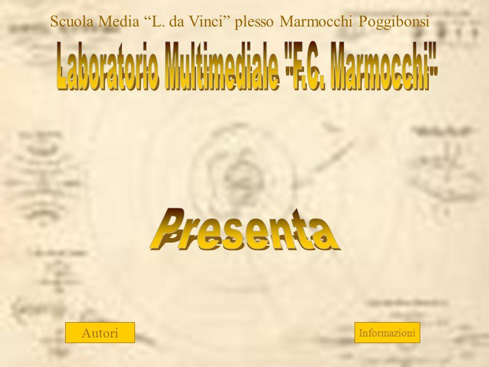 Autori Informazioni Scuola Media L. da Vinci plesso Marmocchi Poggibonsi