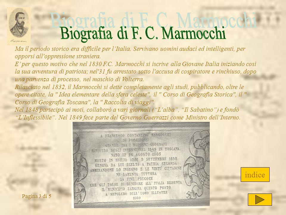 Ma il periodo storico era difficile per lItalia. Servivano uomini audaci ed intelligenti, per opporsi all'oppressione straniera. E per questo motivo c