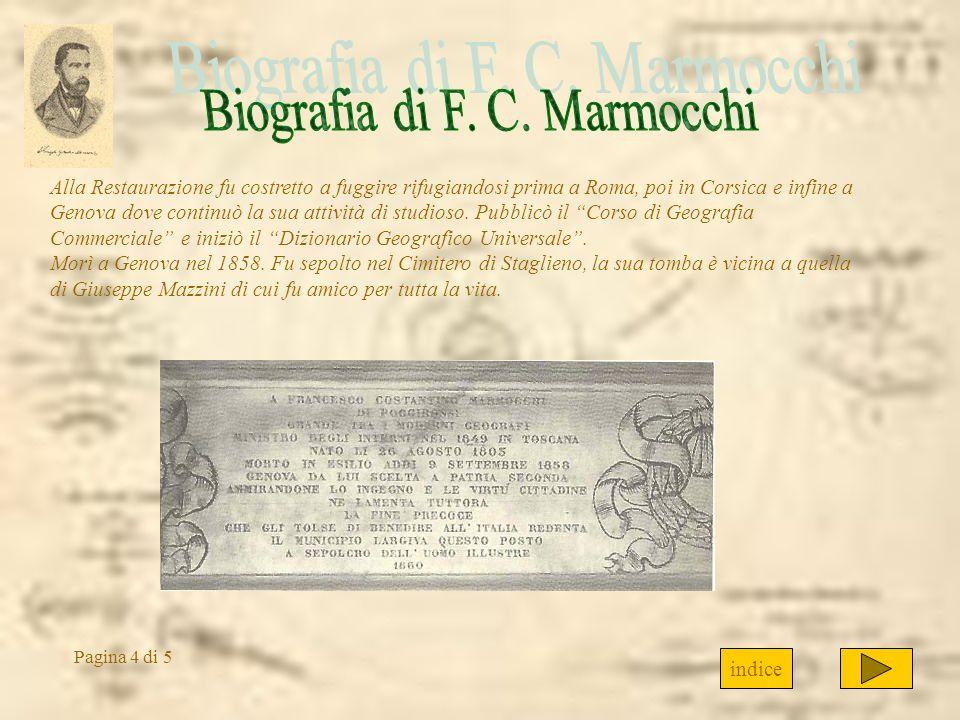 Alla Restaurazione fu costretto a fuggire rifugiandosi prima a Roma, poi in Corsica e infine a Genova dove continuò la sua attività di studioso. Pubbl