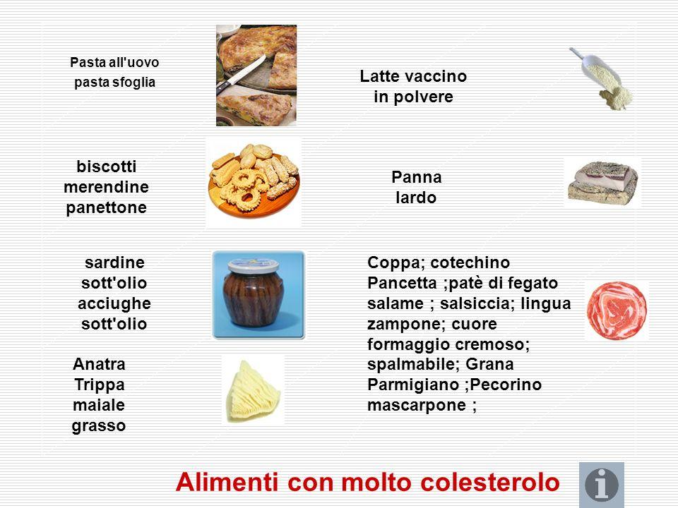 COLESTEROLO Il colesterolo partecipa alla funzionalità cellulare in qualità di componente delle membrane biologiche e come precursore di ormoni steroi