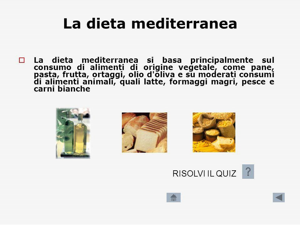 I principi alimentari Una dieta equilibrata non dipende unicamente da un apporto calorico adeguato, essa deve anche rifornire lorganismo di tutti gli