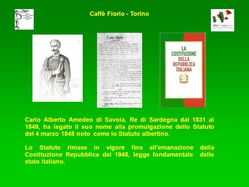 Carlo Alberto Amedeo di Savoia, Re di Sardegna dal 1831 al 1849, ha legato il suo nome alla promulgazione dello Statuto del 4 marzo 1848 noto come lo Statuto albertino.