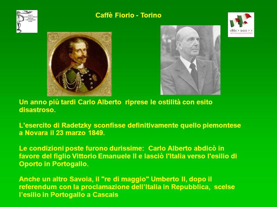 Un anno più tardi Carlo Alberto riprese le ostilità con esito disastroso.