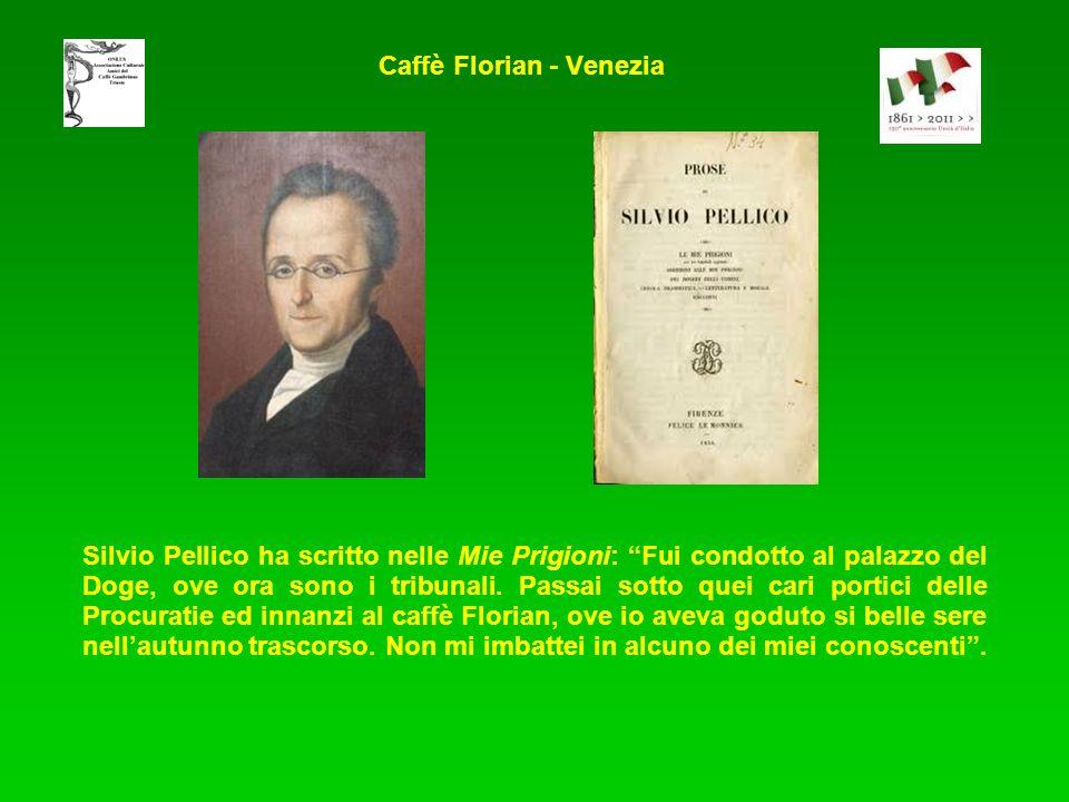 Silvio Pellico ha scritto nelle Mie Prigioni: Fui condotto al palazzo del Doge, ove ora sono i tribunali.