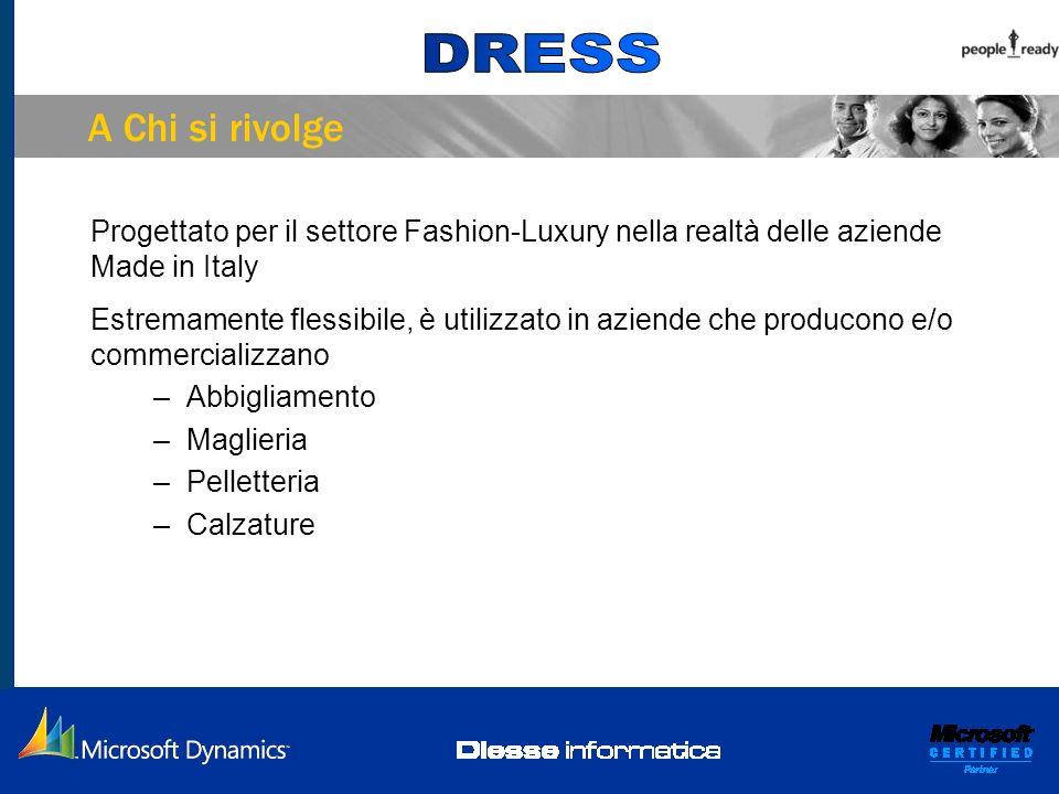 A Chi si rivolge Progettato per il settore Fashion-Luxury nella realtà delle aziende Made in Italy Estremamente flessibile, è utilizzato in aziende ch