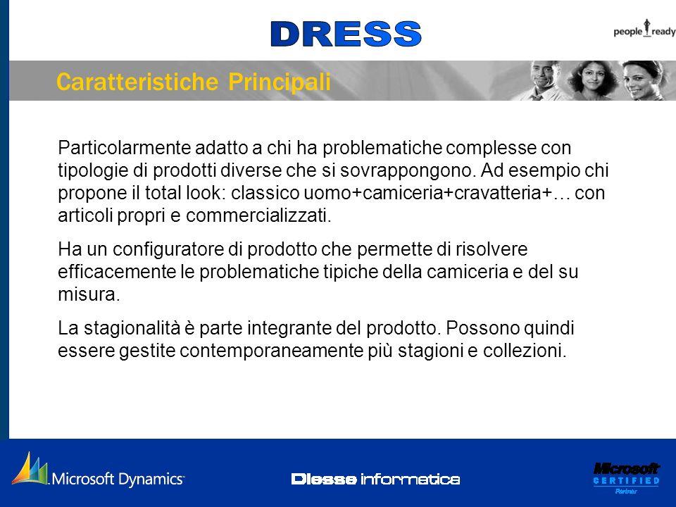 Caratteristiche Principali La gestione ordini, la logistica e la produzione lavorano per riga dordine come è tradizione nelle aziende italiane.