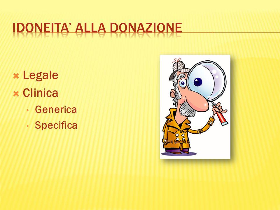Legale Clinica Generica Specifica