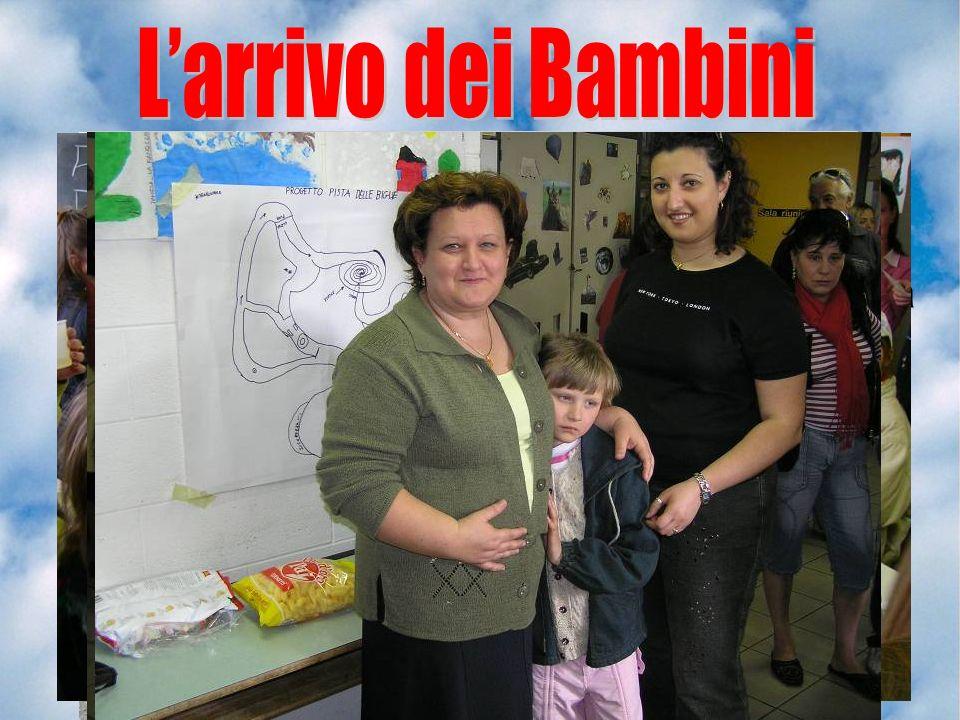 Arrivo allaeroporto ( normalmente Montichiari - BS) Incontro con le famiglie presso la palestrina delle scuole Medie. Affidamento del bambino alla fam