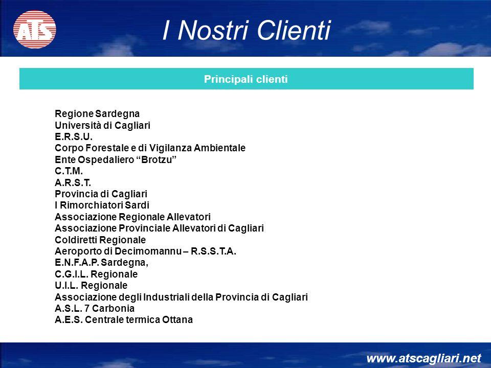 www.atscagliari.net Regione Sardegna Università di Cagliari E.R.S.U. Corpo Forestale e di Vigilanza Ambientale Ente Ospedaliero Brotzu C.T.M. A.R.S.T.