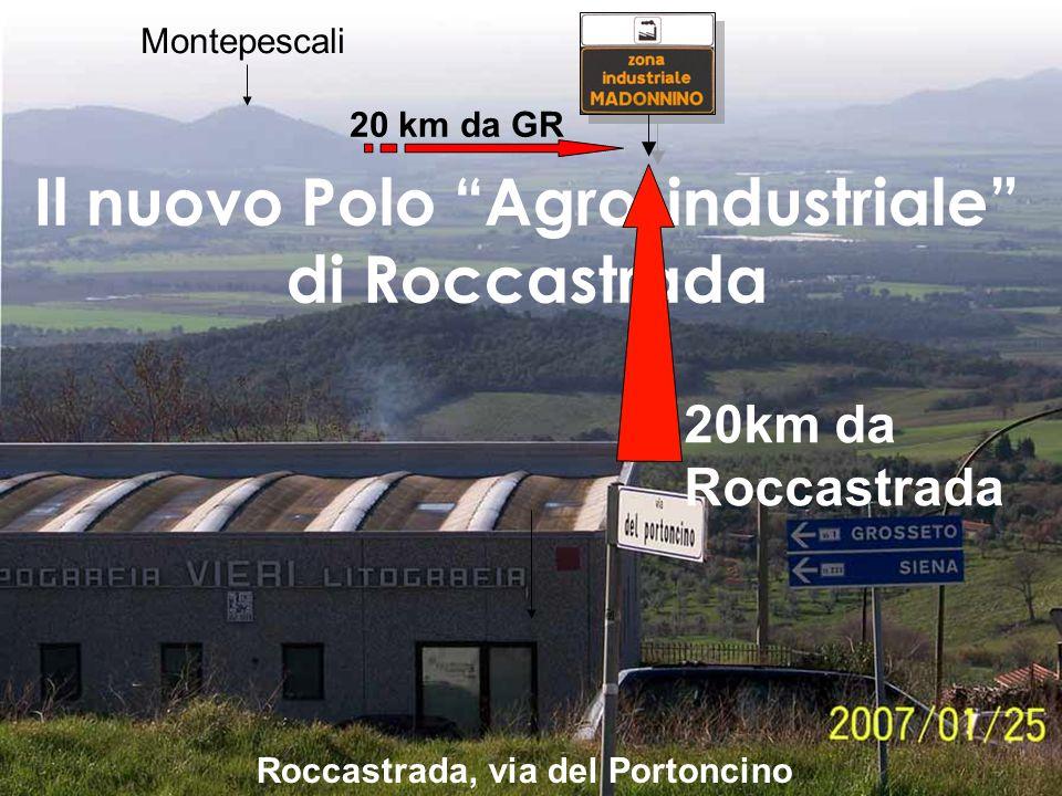 larea del futuro Polo Logistico (tra quello industriale e quello fieristico) Poco dopo levento del 20/10/06 Montepescali