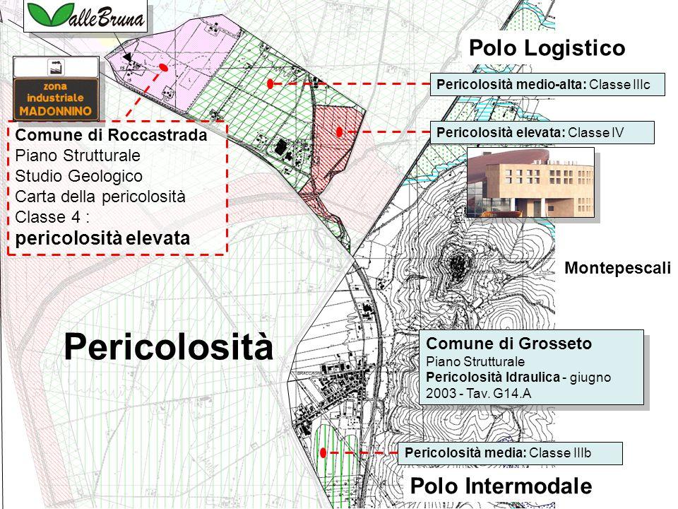 Comune di Grosseto Piano Strutturale Pericolosità Idraulica - giugno 2003 - Tav.