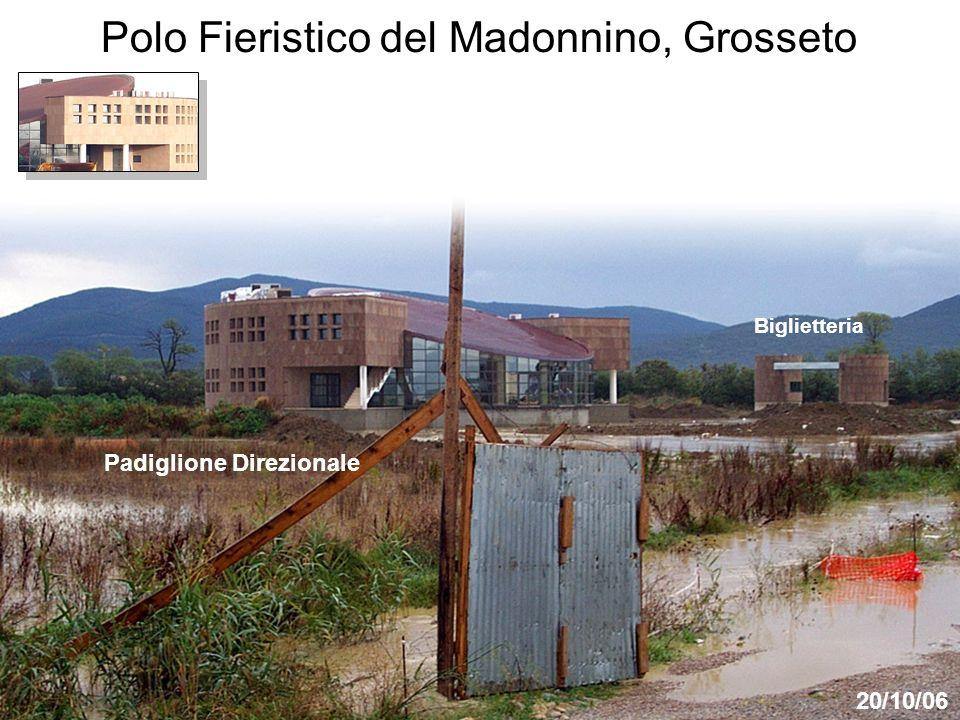 Padiglione Direzionale 20/10/06 Biglietteria Polo Fieristico del Madonnino, Grosseto