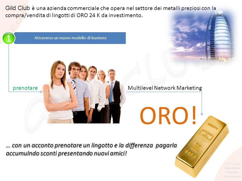 Gild Club è una azienda commerciale che opera nel settore dei metalli preziosi con la compra/vendita di lingotti di ORO 24 K da investimento. Attraver