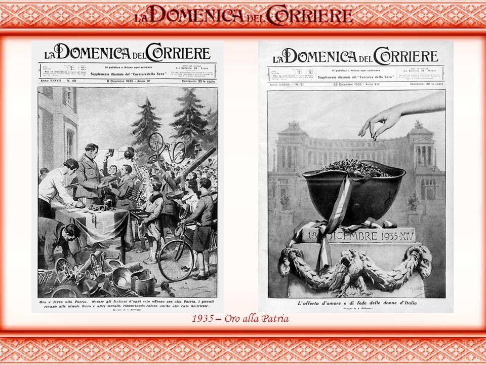 1924 – Visita del Re a Fiume 1929 – Firma del trattato Italia/Vaticano