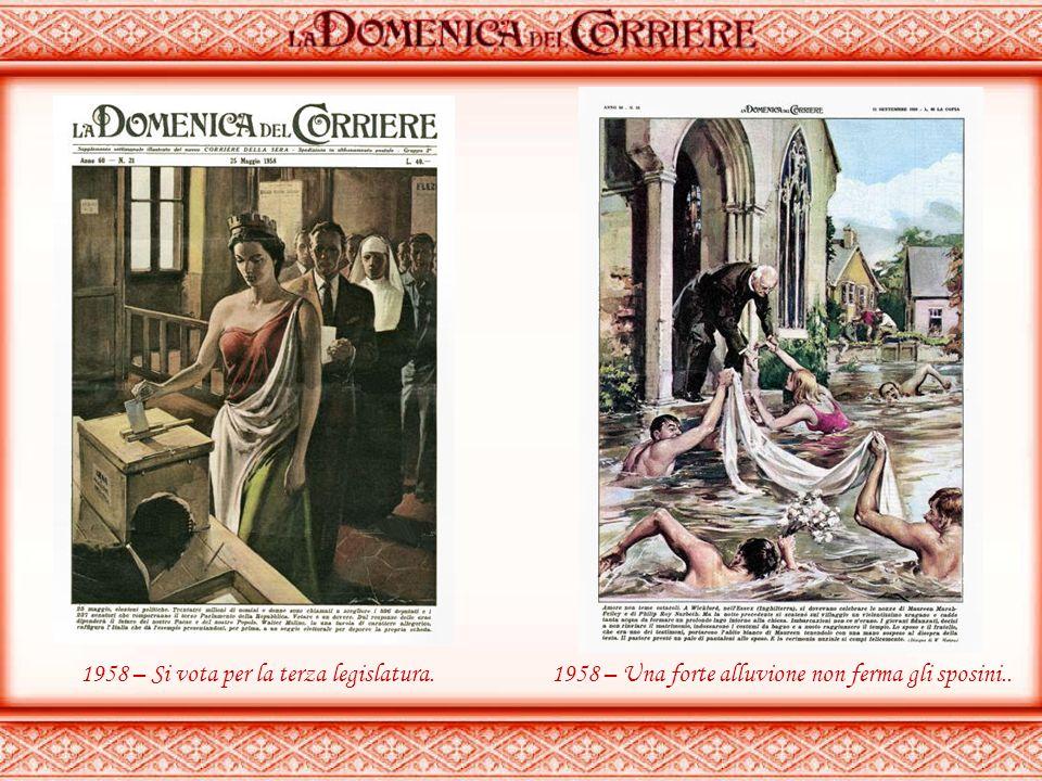 1957 – Salvata al volo….1958 – Onoranze al Cristo degli abissi (Genova)