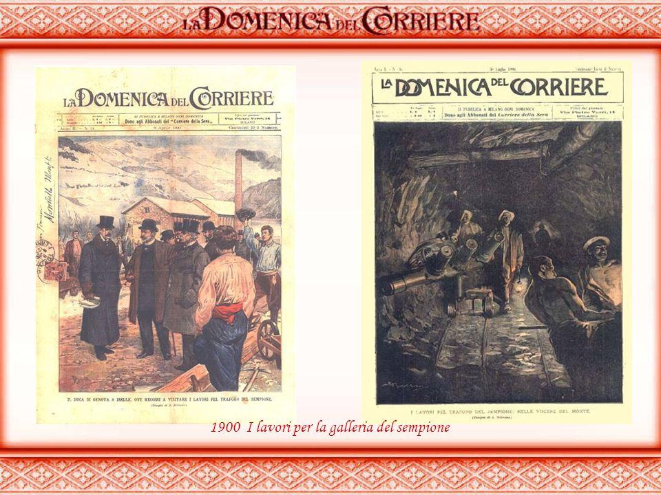 apparve per la prima volta nelle edicole l'8 gennaio 1899 come supplemento illustrato del Corriere della Sera. La prima e ultima di copertina erano se