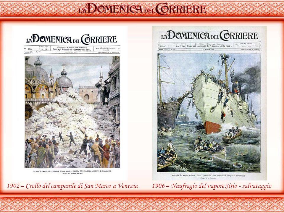 1900 - Giuseppe Verdi nel suo studio 1901 – Un tesoro ritrovato durante gli scavi