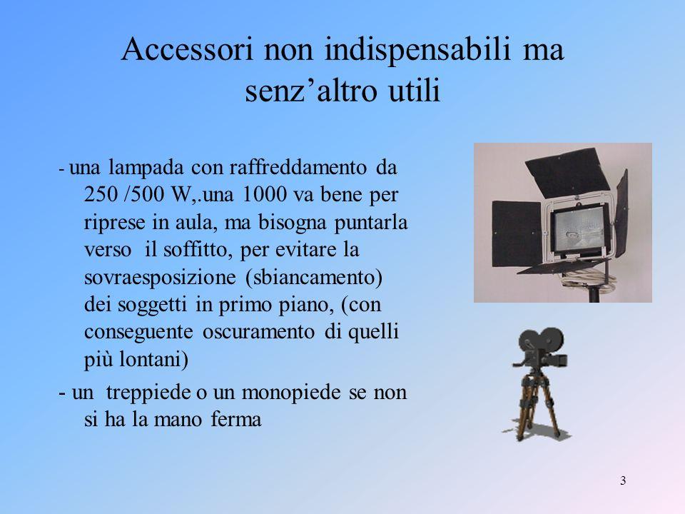 2 Quali strumenti servono VideocameraComputerSoftwareLettore DVD-DVX- MP3 esterno meglio se digitale,ma si può lavorare anche con unanalogica minimi requisiti: HD da 60 Gb - Ram da 1G.