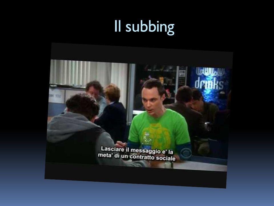 Il subbing