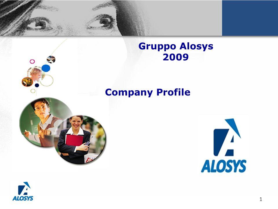 1 Gruppo Alosys 2009 Company Profile