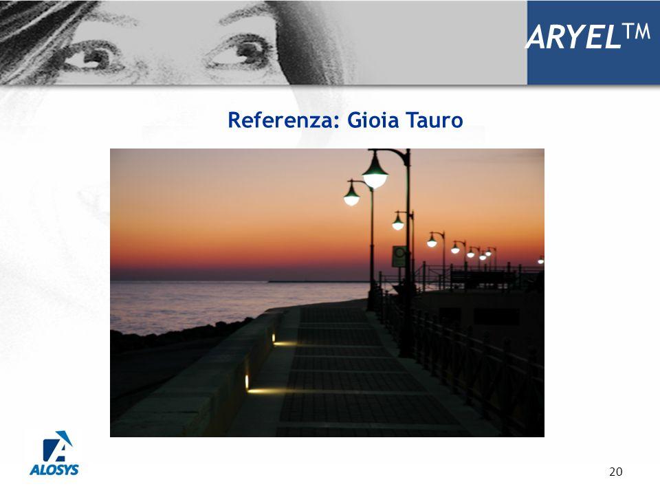 20 ARYEL TM Referenza: Gioia Tauro