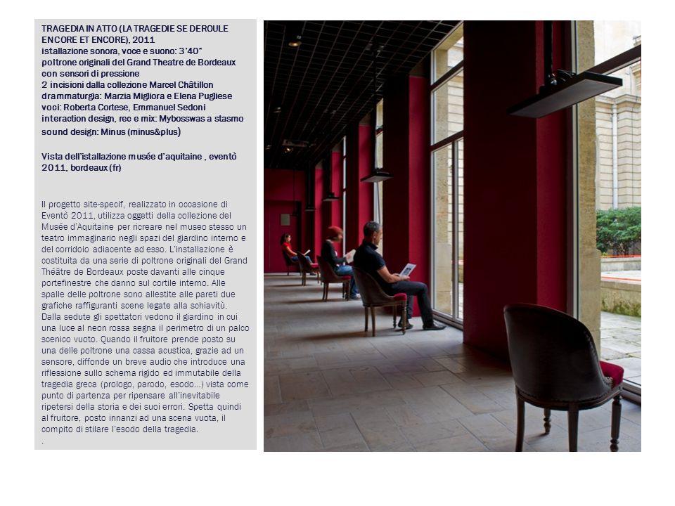 BIANCA E IL SUO CONTRARIO, 2007 mostra personale presso la Galleria Lia Rumma, Milano 21 settembre- 30 novembre 2007 Opere: Bianca e il suo contrario Everyman Lei che non dormiva mai.