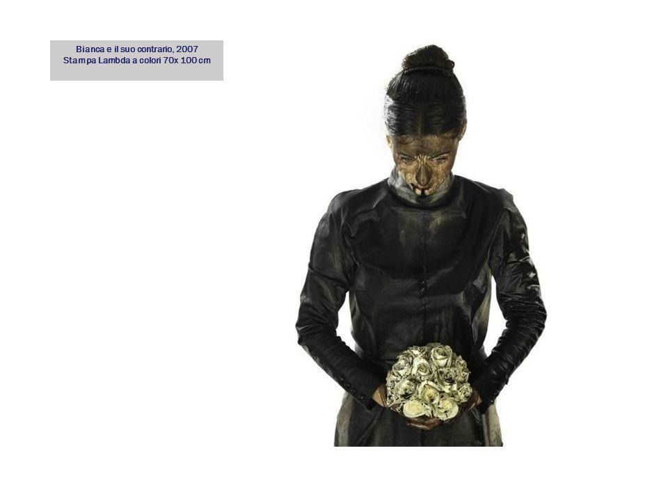 Bianca e il suo contrario, 2007 Stampa Lambda a colori 70x 100 cm