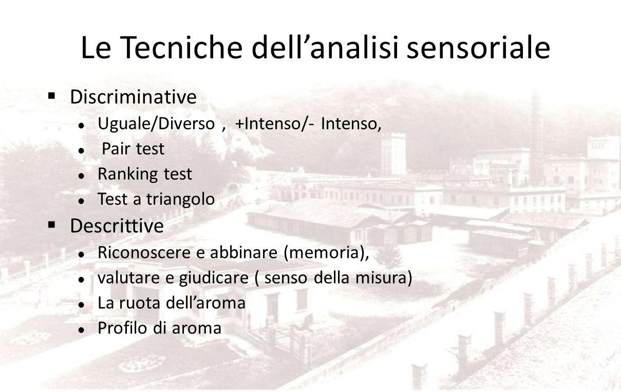Cosa è importante per priorità Capacità di concentrazione Interesse Formazione e training Esperienza Sensibilità agli stimoli sensoriali Età