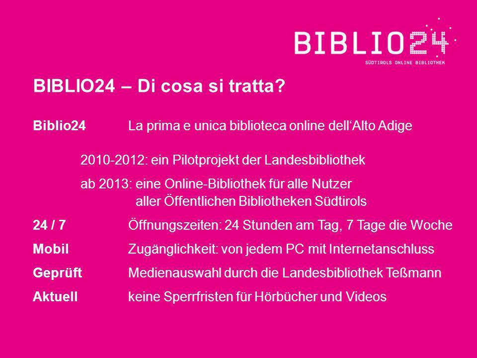 BIBLIO24 – Di cosa si tratta.