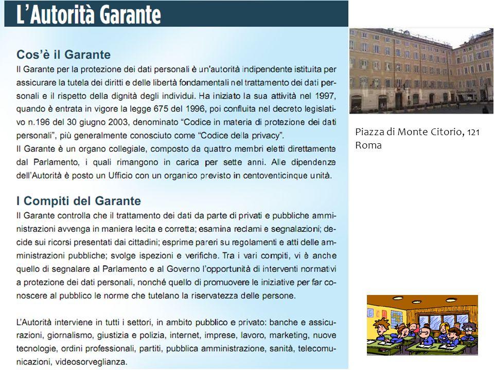 Piazza di Monte Citorio, 121 Roma